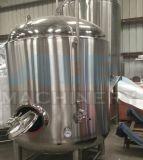 De Tank van de Gisting van het Bier van het roestvrij staal met Elliptische Hoofden en Kogelklep (ace-fjg-MD)