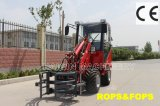 Bale Clamp를 가진 Rops&Fops Mini Loader (HQ908)