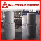 Vérin hydraulique de l'huile hydraulique du piston avec tige de piston en acier forgé