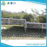 Mehrfaches waagerecht ausgerichtetes Stadium mit Binder für im Freienereignisse Doppelt-Schicht Stadium