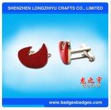 Fabrik-kundenspezifische Qualitäts-Silber Swank Manschettenknöpfe