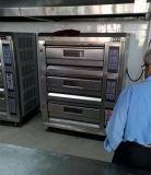 Forno del pane del forno di gas della piattaforma del forno dell'acciaio inossidabile in strumentazione del forno