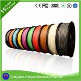 Câble unipolaire de silicones du fil 10 de batterie rouge et noire d'A.W.G.