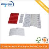 Оптовый изготовленный на заказ ярлык липкой бумага печатание (QYZ035)