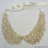Les colliers de perles de vêtements de mode Appliques Choker Femmes Accessoires perles robe
