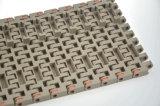 Rechte Lopende Breedte Beperkte Plastic Modulaire Transportband Falt