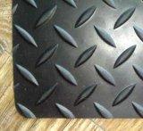 Bw Mat van de Vloer van de Plaat van de Diamant de Rubber voor Treden