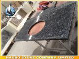 Countertops van het Graniet van de Parel van de fabriek de Directe Blauwe en Bovenkanten van de Ijdelheid