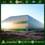 Costo de acero ligero prefabricado de la ISO bajo de construcción del almacén