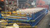 Heißer Verkauf galvanisierte die Blatt verwendete Stahlrolle glasig-glänzende Fliese-Rolle, die Maschine bildet