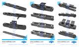 Las cadenas transportadoras de Tono doble estándar, ANSI B29.1 DIN ISO - Básico/ Tipo de rodillo grande