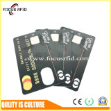 Impresión modificada para requisitos particulares tarjeta de la insignia del IC del contacto de la ISO RFID