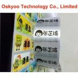Autoadesivi impermeabili di nome del fumetto stampati PVC