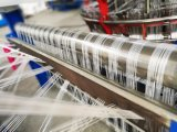Alta velocidade energy-saving PP e da canela plástica do PE máquina de confeção de malhas circular da máquina de tecelagem do tear
