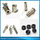 Maquinaria de alumínio das peças da precisão e das peças do CNC do trabalho do metal