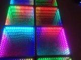 Abismo espejo LED 3D de pista de baile