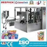 Mel automático que pesa a máquina de enchimento do acondicionamento de alimentos da selagem