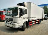 El carro del refrigerador de Dongfeng de 6 ruedas 10 toneladas refrigeró a Van