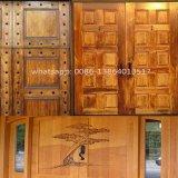 木のドア機械を刻む切断のための3つのヘッド木工業のルーター