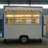 Carro móvel do alimento do reboque da concessão da rua