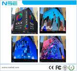 Affichage numérique P6 P8 Affichage LED d'installation extérieur fixe