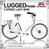 Lady (AYS-2815S)のための28インチInner 3 SpeedオランダのBicycle