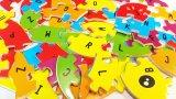 Vente en gros en bois d'aimant de puzzles