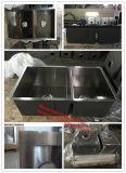 Dispersore di Handmde dispersore di cucina degli zero raggi, 50/50 doppio di Sinkhmsd2919 Handmade