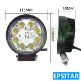 24W Epistar 4.5inch Outdoor Auto LED Lampe phare de travail de travail