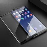 3D 가득 차있는 접착제 상자 Samsung S9를 위한 친절한 강화 유리 스크린 프로텍터 플러스