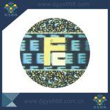 3D Dynamische Sticker van de Veiligheid van de Laser van het Etiket van het Hologram