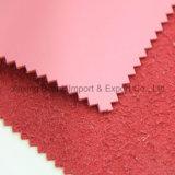 Couro de PVC sintético de alta qualidade com apoio de estofamento de couro