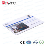 La norma ISO14443una tarjeta de doble frecuencia RFID regrabables.
