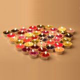 Length Burning Birthday Party Colorful Tealight Candle