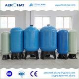 Vasos del tanque del sistema FRP del purificador del agua para el suavizador de agua