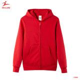 Deportes de la mujer de alta calidad 100% algodón sudaderas con capucha