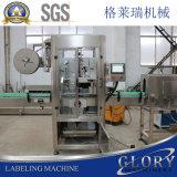 Automatische Mineralwasser-Glas-Flascheshrink-Hülsen-Etikettiermaschine