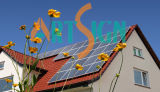 Toiture inclinée de montage de toit de tuiles System-Metal solaire