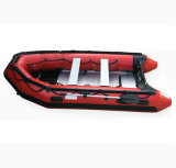 Boot/de Redding van Aqualand 12FT 8persons Semi-Rigid Opblaasbare/Militair/Vissend (385)