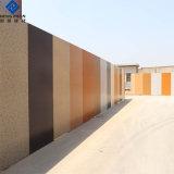 Colore decorativo che ricopre lo strato di alluminio del grano di legno per materiale da costruzione