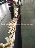 Uma mangueira de alta pressão SAE100 R6 do petróleo hidráulico da trança de matéria têxtil
