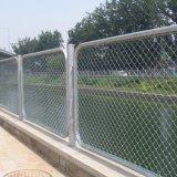 高い量PVC上塗を施してある装飾用の錬鉄の金網の塀