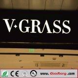Resina com iluminação LED acrílico Best-Selling sinais de letra