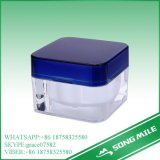 化粧品のための30gハイエンドアクリルの普及したクリーム色の瓶