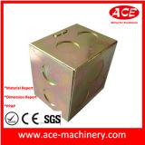 Sellado del rectángulo de la electrónica de la fabricación de metal de hoja