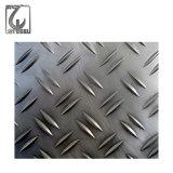 201/304/316 type plaque Checkered de lentilles d'acier inoxydable