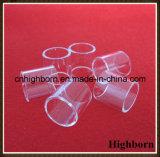 Borrar el borde polaco fundido del vidrio de cuarzo de la silicona