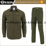 Рубашка способа напольные быстро сухие и тяжелое дыхание, костюм длины регулируемый