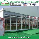 Grande tenda di alluminio per la mostra