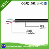 fio do cabo do revestimento da borracha de silicone da resistência térmica de 24AWG UL3132